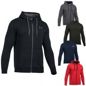 Veste à capuche Rival Fitted Full Zip Under Armour