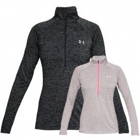 Sweat 1/2 zip Tech Novelty Femme
